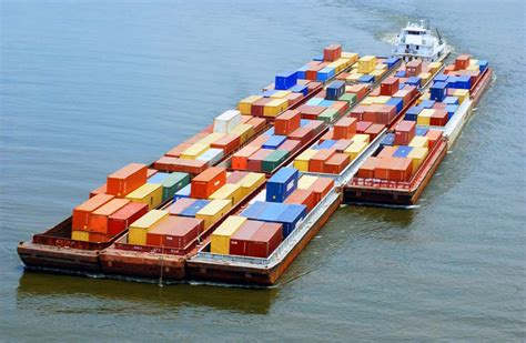 boat transport alabama containers on barge coosa alabama river improvement assn