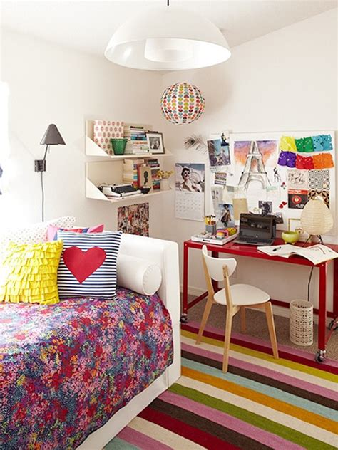 colorful teenage girl bedroom ideas 69 colorful bedroom design ideas digsdigs