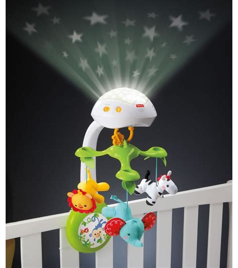 Crib Projector Mobile by Fisher Price 3 In 1 Deluxe Projection Mobile