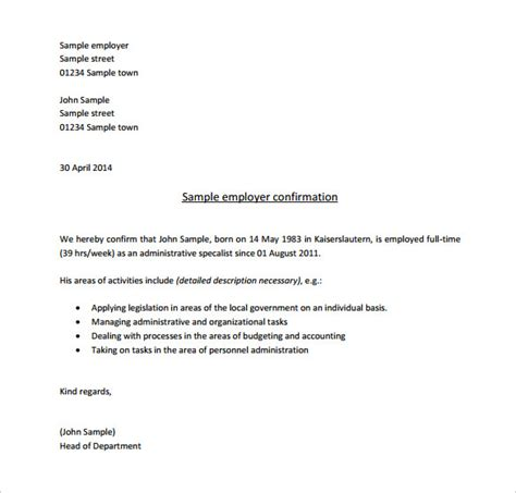 Letter Format For Cancellation Of Work Order All Resumes 187 Format For Confirmation Letter Free Resume