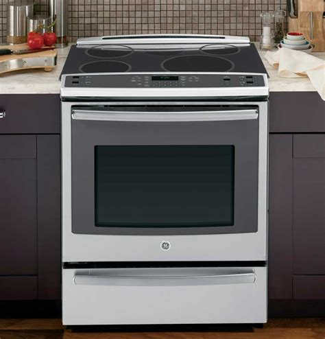 oven electric range with induction cooktop induction cooking cooktops and cookware ge appliances