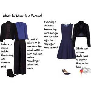 what to wear to a funeral inside out style