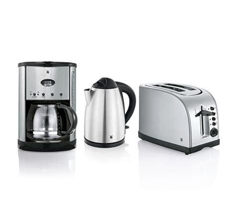 kaffeemaschine wasserkocher toaster wmf fr 252 hst 252 cks set wasserkocher kaffeemaschine toaster