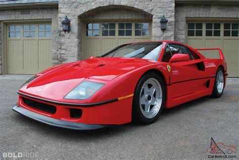 ferrari f40 ferrari f40 car classics