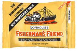 Fisherman S Friend Aniseed Menthol 25 G fishermans friend strong menthol aniseed 25g chempro