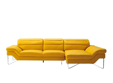 modern yellow sofa casa 5121b modern yellow bonded leather