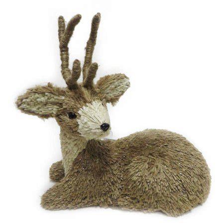 walmart decorative deer outdoor time decor 14 quot deer decor walmart