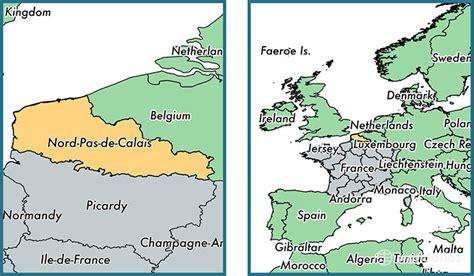 where is nord pas de calais metropolitan region where