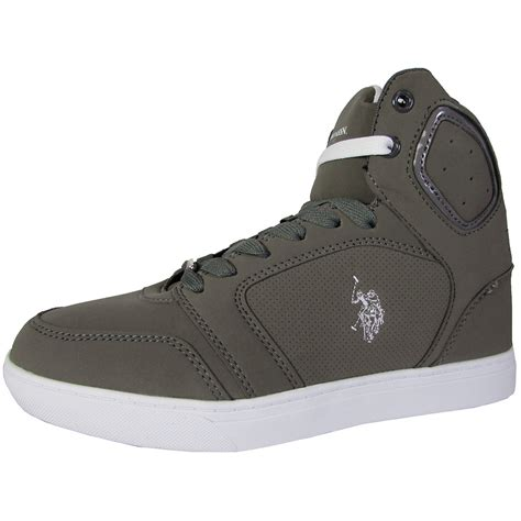 Us Polo Assn U S P A Shoes u s polo assn mens supe p high top sneaker shoes martlocal