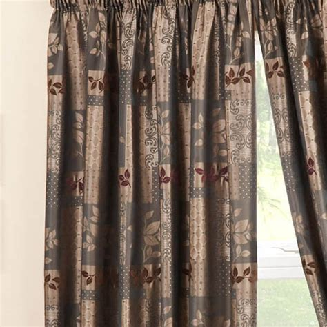 pencil pleat curtains ready made winchester chocolate pencil pleat ready made curtains