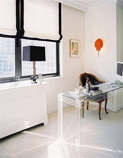 20 Stylish Home Office Computer Desks Lucite Office Desk