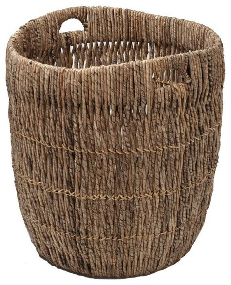 Basket Planter by Large Indoor Planter Or Storage Basket In Sea Grass