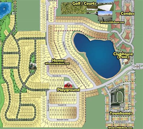 Rent Vacation Home In Orlando - windsor hills resort windsor hills resort map
