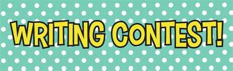 Writing Sweepstakes - kids writing contest