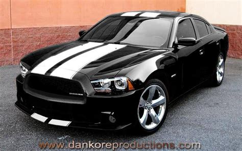 Sticker Striping Beat Fi Wheels 2011 2012 Dodge Charger Official Danko 70 Custom Grille