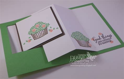 how to make a pop out card debbie s designs pop out swing card