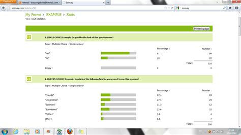 Survey On Line - free online survey tool soorvey com