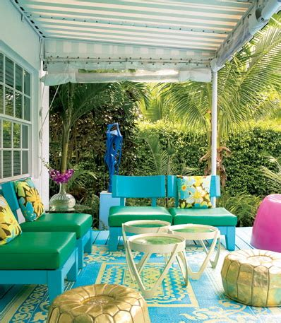 Outside Patio Decor Interior Decorating With Serious Color By Doug Meyer