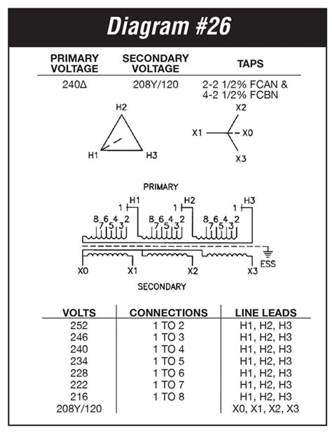 type transformer wiring diagrams 36 wiring diagram