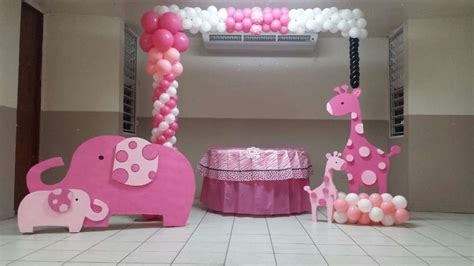 Pink Safari Baby Shower Ideas by Pink Safari Baby Shower Ideas Photo 1 Of 12