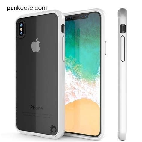 0 iphone x iphone x punkcase lucid 2 0 series slim fit armor cover w in