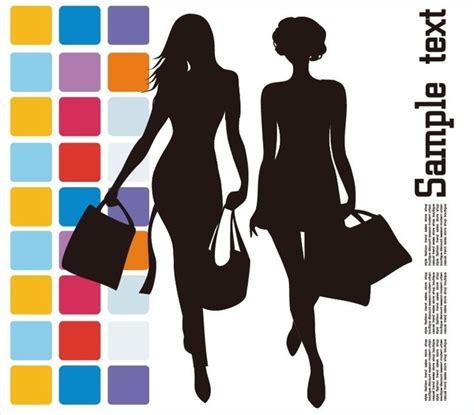 Vector Illustration Of A Stylish   fashion shopping vector illustration free vector in