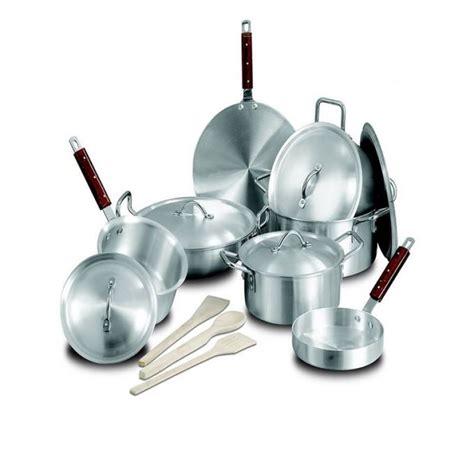 Kiran Set kiran alloy wok set 15 pcs silver in pakistan hitshop