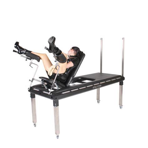 bondage benches bdsm behandlungsliege mit ausklappbarem gynstuhl energy