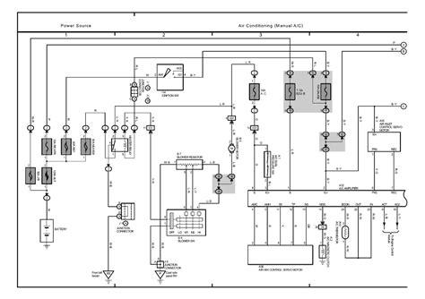 auto air conditioning repair 2001 toyota 4runner free book repair manuals repair guides overall electrical wiring diagram 2002 overall electrical wiring diagram