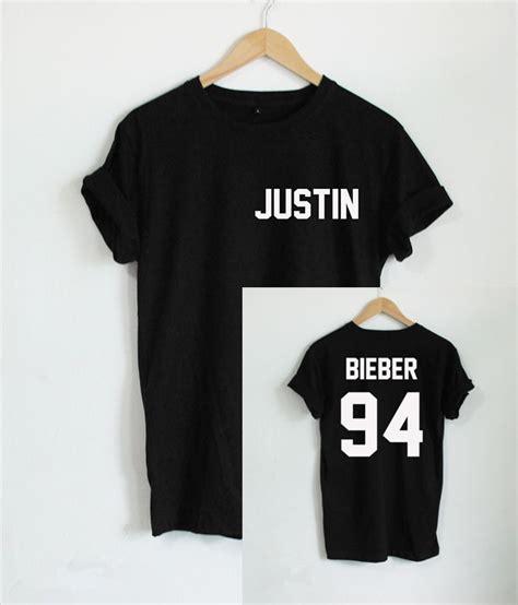 Kaos Justin Bieberjustin Bieber Tshirt justin bieber t shirt artee shirt