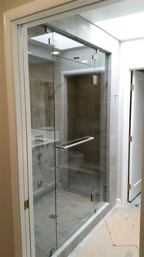 Custom Shower Glass Doors Frameless Custom Frameless Shower Enclosures And Shower Doors