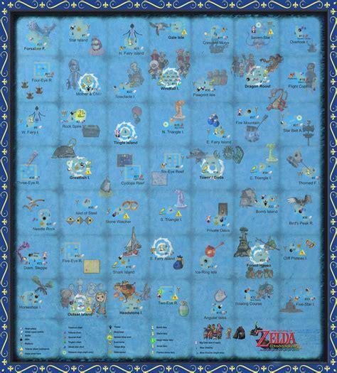 wind waker map the wind waker sea chart w pictures by zantaff on deviantart