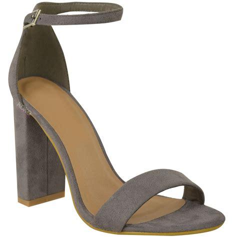block heel high heels womens block high heels ankle open toe