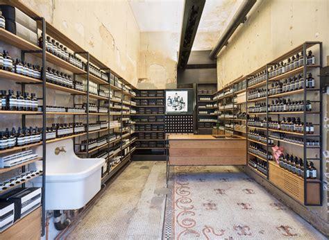 design stores in nyc aesop store by architecture outfit new york 187 retail