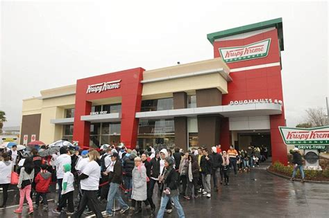 Krispy Kreme store opening in Adelaide brings knives, brawls and traffic chaos   Daily Mail Online