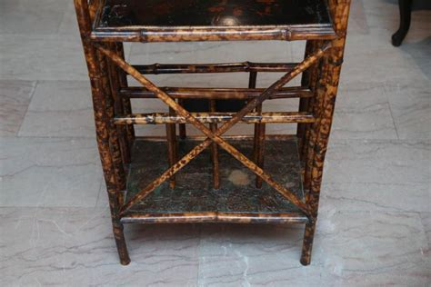etagere 9 cases fly 19th century bamboo 201 tag 232 re with magazine stand