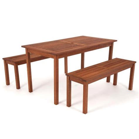 hardwood picnic bench new outdoor hardwood table and bench seat chair set bbq