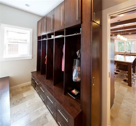 laundry room lockers lake winnebago remodel mud room lockers modern laundry room kansas city by rothers