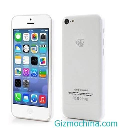 Advan T 5c goophone i5c apple iphone 5c clone pops up