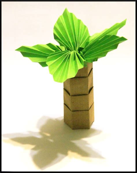 rolled paper palm trees 114 best images about zomer knutselen on cones sun and origami