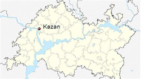maps kazan russia kazan russia map