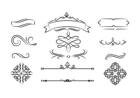 wedding design elements vector free free wedding invitation element vector download free