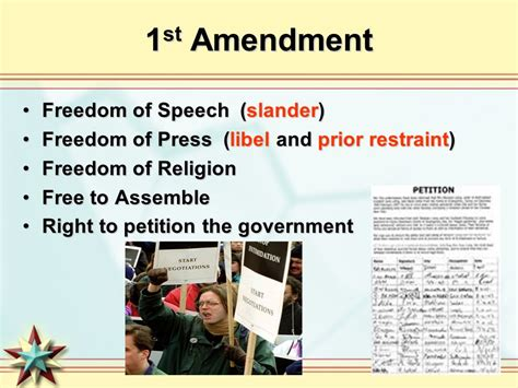 Freedom To Assemble Is Outlined In Which Amendment by Order And Civil Liberties Ppt