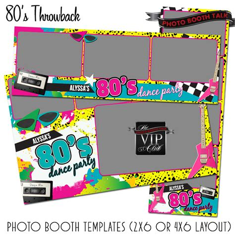 photo booth frame layout party templates photo booth talk
