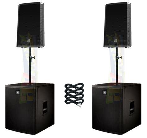 Speaker Aktif Electro Voice Zlx 15p Zlx 15p Zlx15p 1000 Watt electro voice elx118p zlx 15p pack