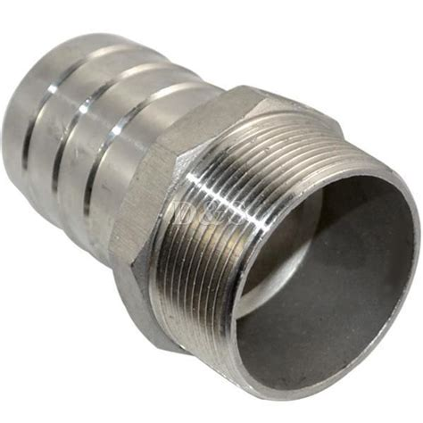 Thread Adaptor Mta 40x 1 1 2 stainless steel 1 1 2 quot thread pipe fitting x 40mm