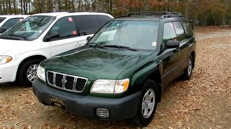 2002 Subaru Forester Photos Informations Articles
