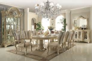 white dining room set hd 5800 homey design royal dining collection set