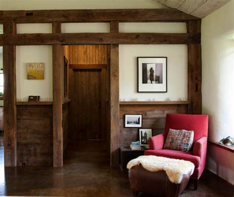 salvaged wood interior walls insteading - Salvaged Wood Wall