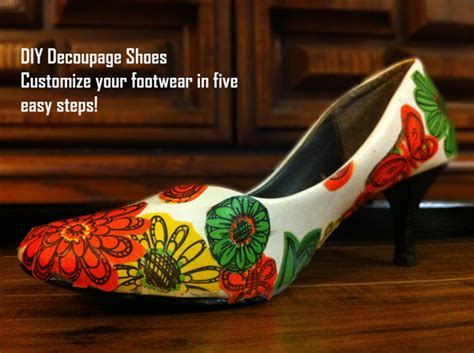 How To Make Decoupage Shoes - used ca diy decoupage shoes used ca